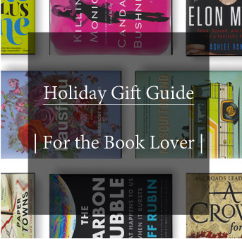 holiday gift guide for the book lover