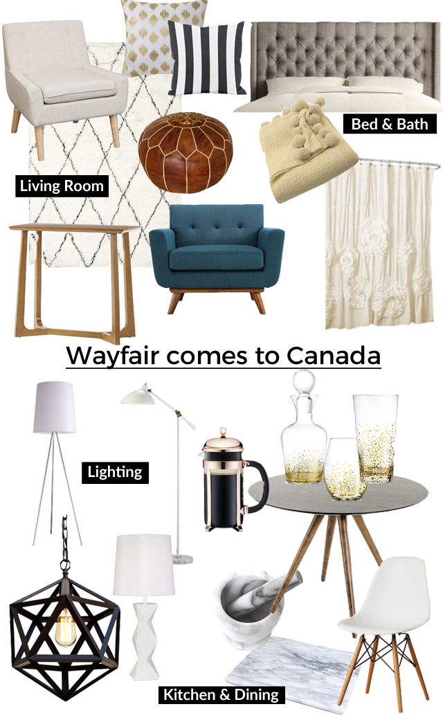 Wayfair es to Canada Kristina Lynne