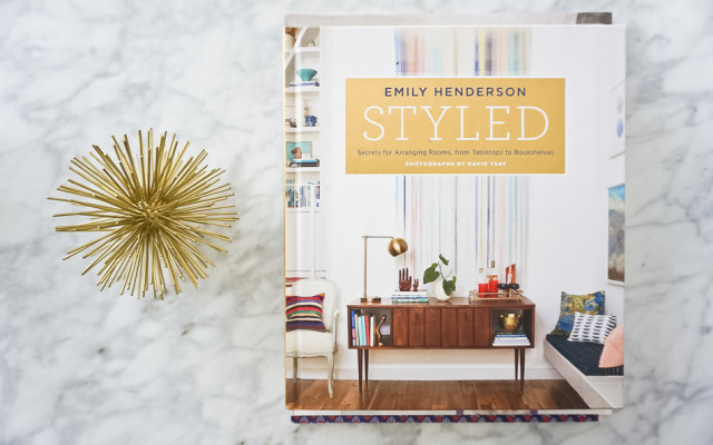 Styled the book by Emily Henderson.