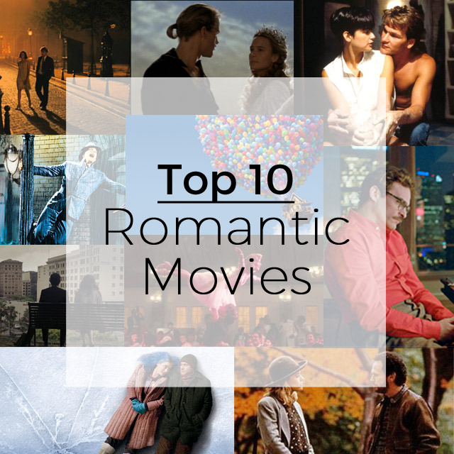 Top 10 Romantic Movies For Valentine's Day