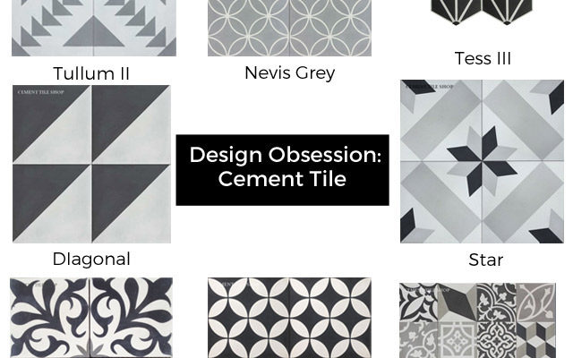 cement tile design obsession