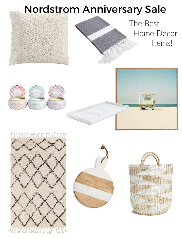 Top home decor items in the nordstrom anniversary sale for Home interior products for sale