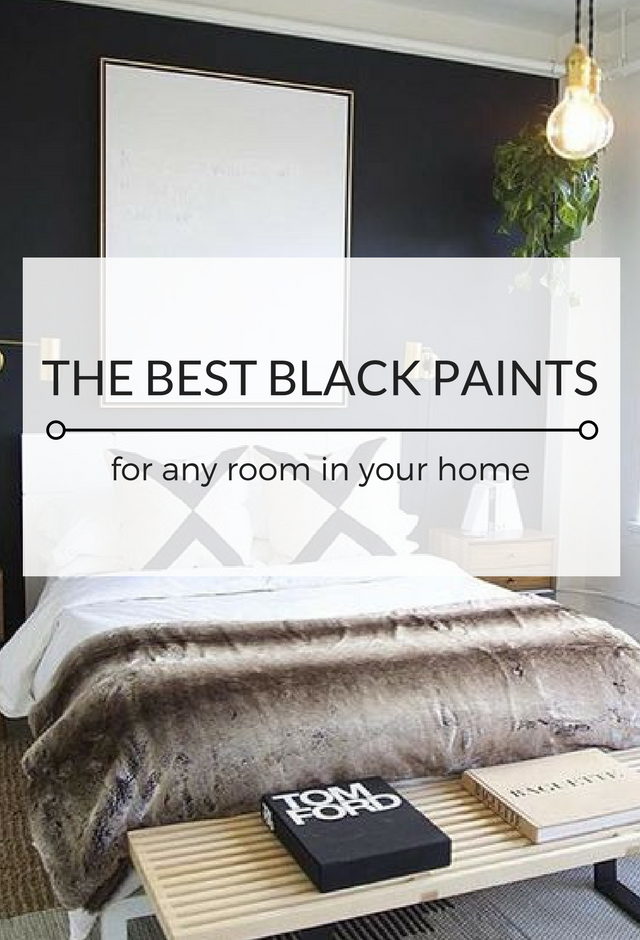 Phenomenal The Best Black Paint Colours For Any Room Kristina Lynne Download Free Architecture Designs Scobabritishbridgeorg