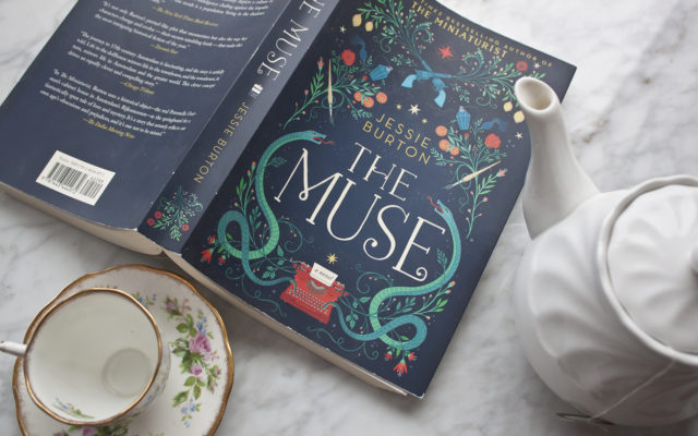 inspired read, The Muse, book review,