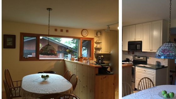 before and after, fixer upper