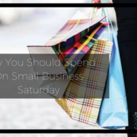 shop small, small business Saturday