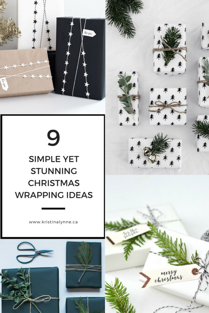 9 Simple Yet Stunning Christmas Wrapping Ideas, Christmas wrap, holiday wrapping ideas