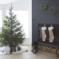 Minimalistic Christmas Decor, home tour, Christmas decor