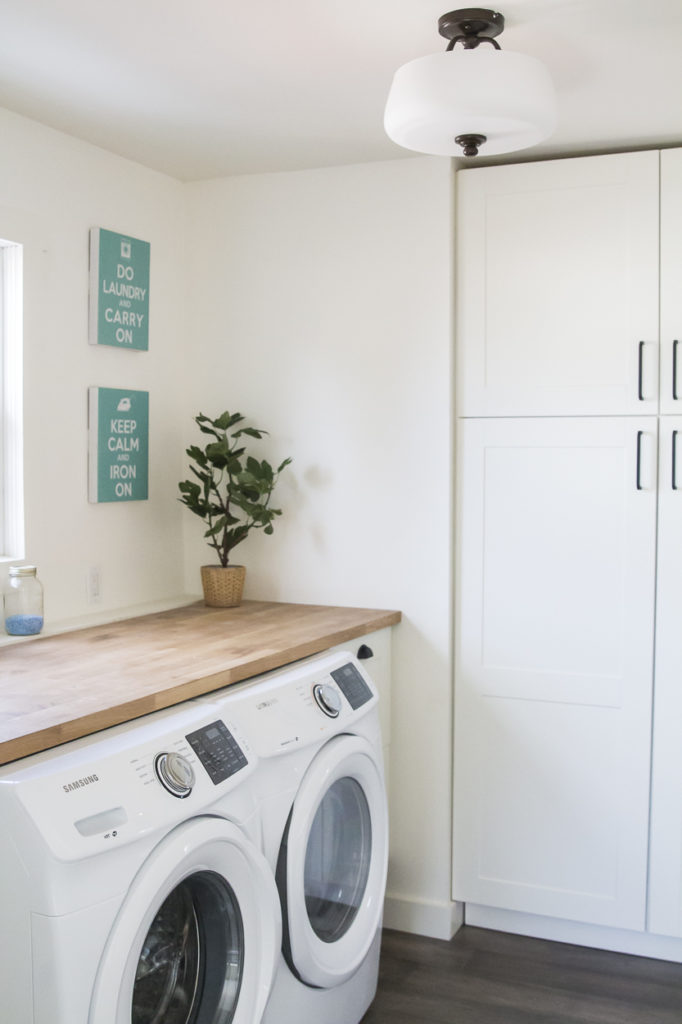 before and after, home design, home decor, house flip, laundry room design