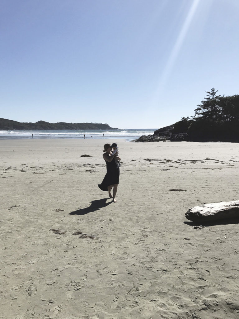 Travelling to Tofino with a Baby