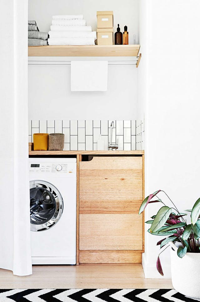 10 Ideas for a Small Laundry Space