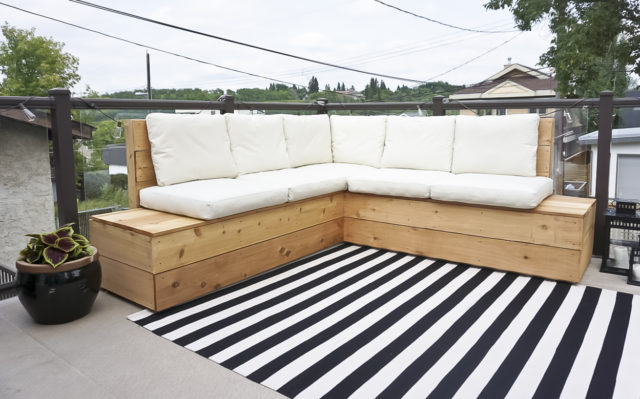 Diy Outdoor Sectional. Modren Diy Diy Outdoor Sectional With Diy