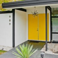 exterior design, exterior inspiration, Palm Springs home