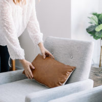 Incorporating Leather Into Your Home, leather home decor