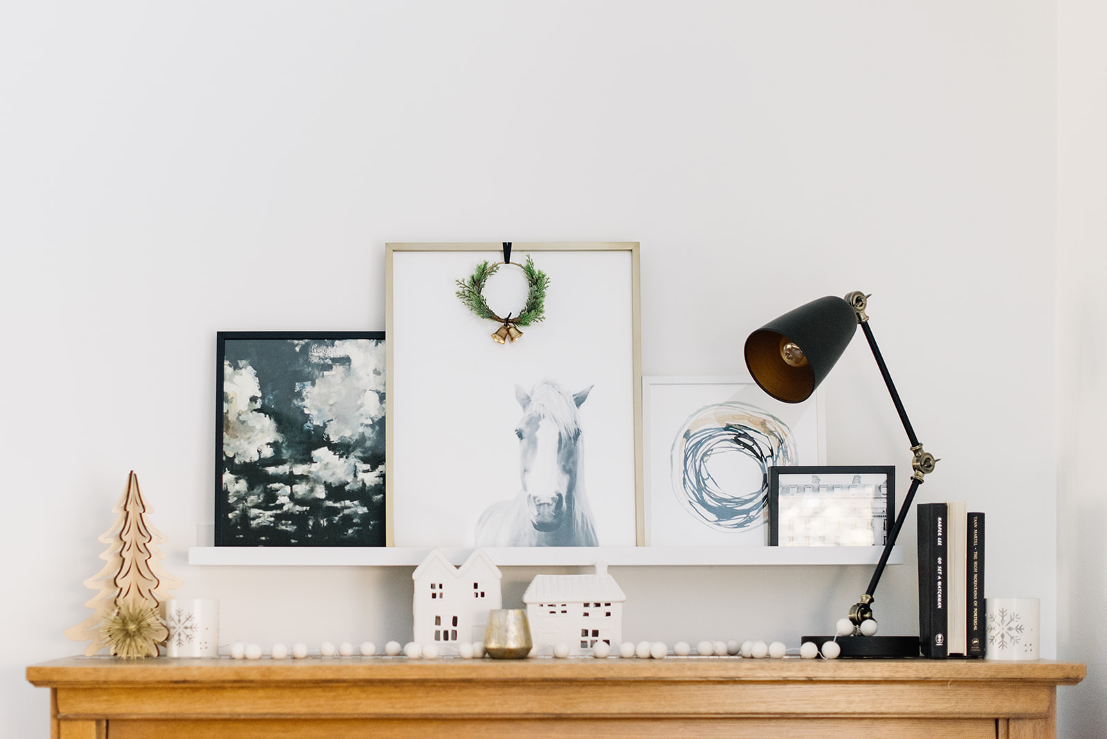 Modern Minimal Holiday Decor, neutral Christmas decor