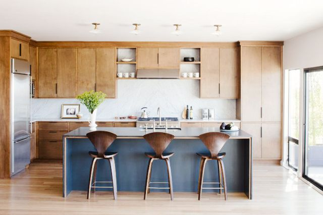 The Ottewell Oasis Mid Century Modern Kitchen Design