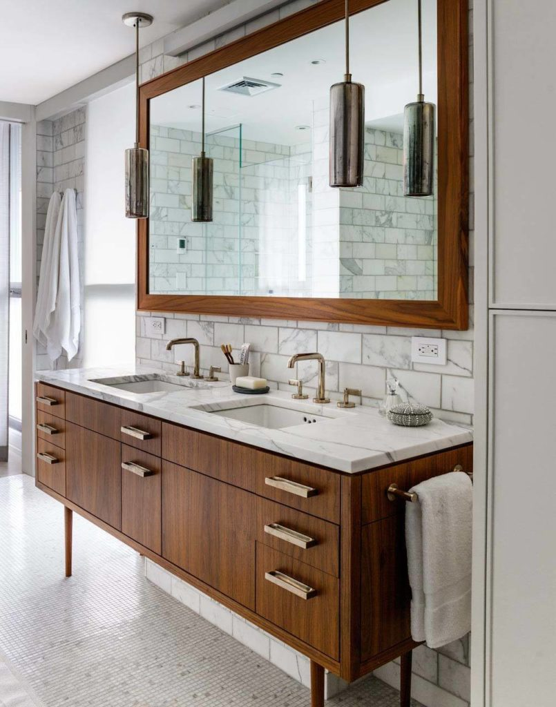 Mid century modern bathroom design inspo the best Mid century modern design ideas