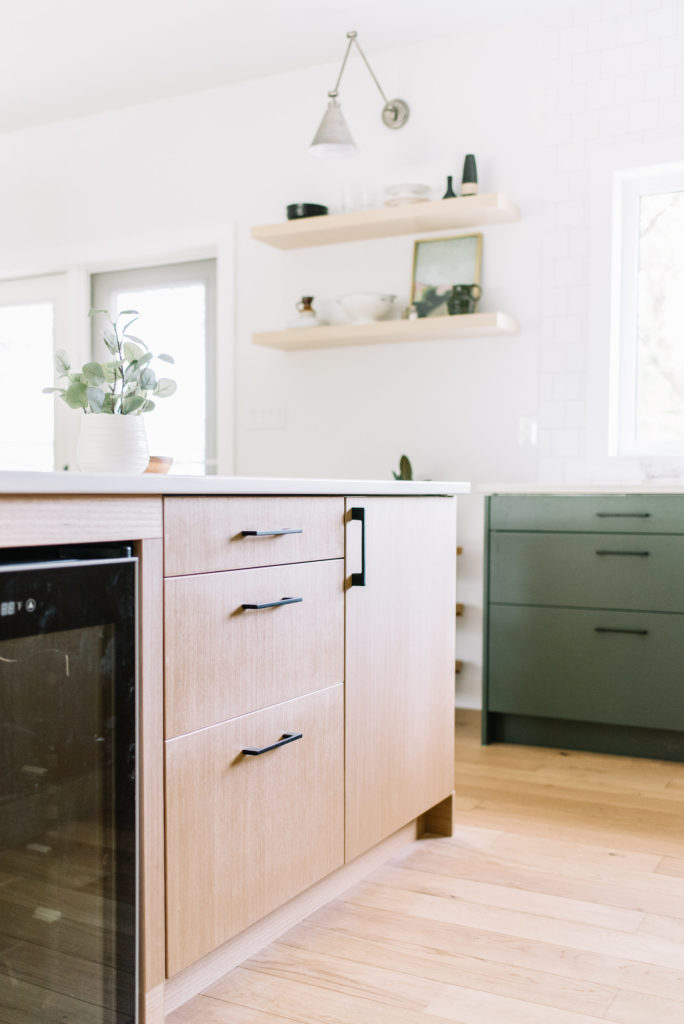 Before and After The Lady Laurier, kitchen design, oak cabinets, Kitch Canada