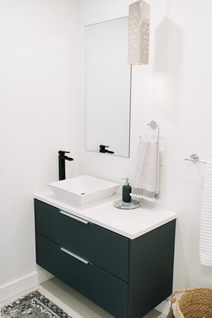 Before and After The Lady Laurier, Powder Room, bathroom design