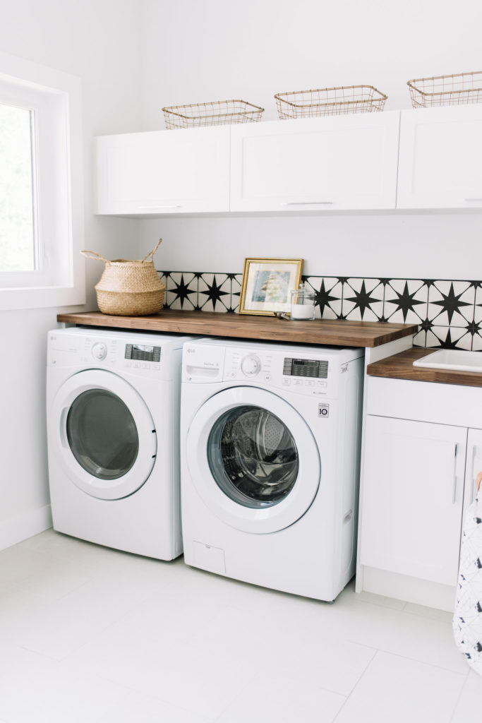 Before and After The Lady Laurier, laundry room design, laundry room decor
