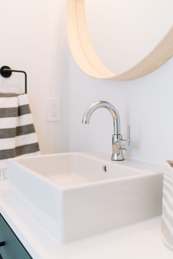 Before and After The Lady Laurier, bathroom design, delta faucet