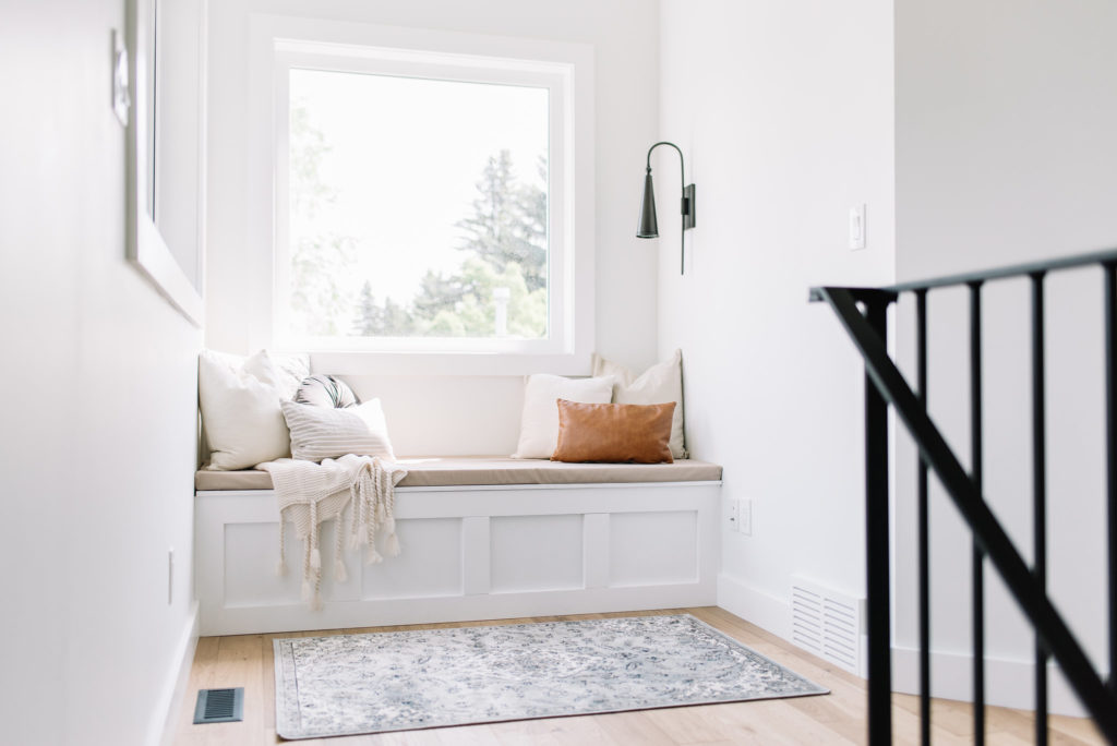 Before and After The Lady Laurier, reading nook, nook design