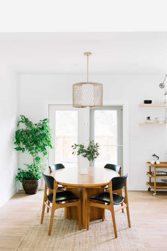 Before and After The Lady Laurier, dining room design, open concept layout