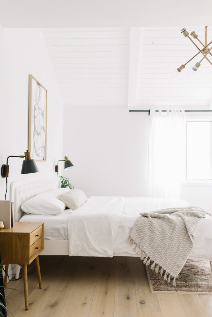 Serene and Simple: Our Master Bedroom Refresh - Kristina Lynne
