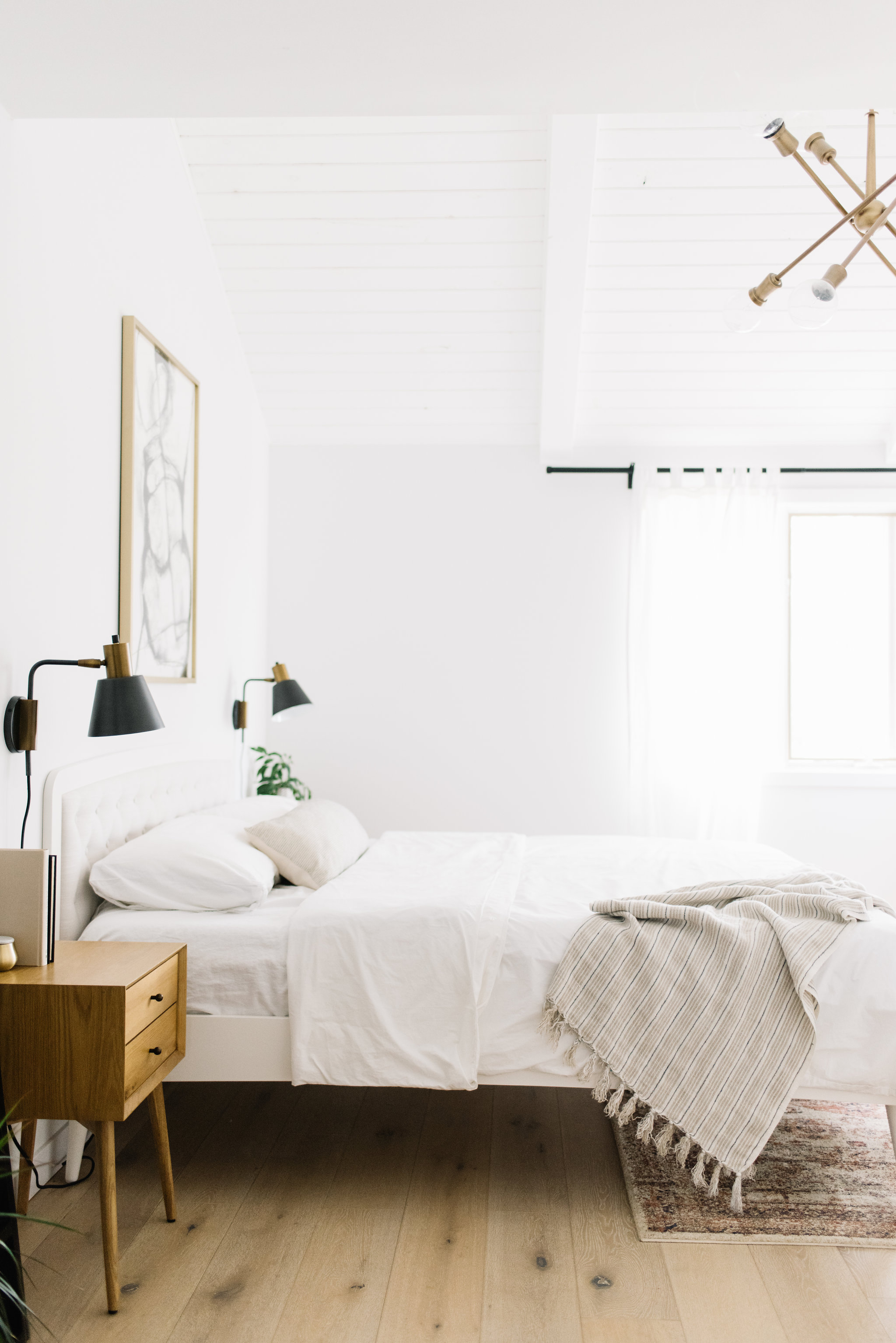 Serene And Simple Our Master Bedroom Refresh Kristina Lynne