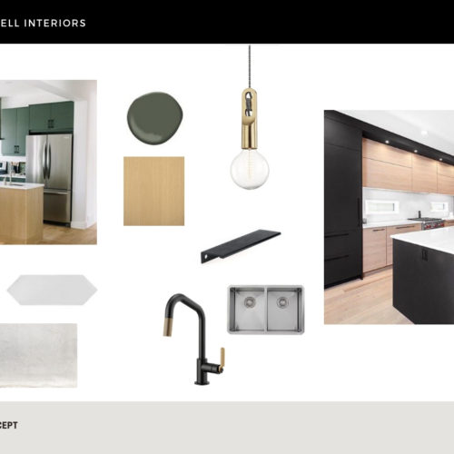 Duchess on the Drive, kitchen concept, design concept