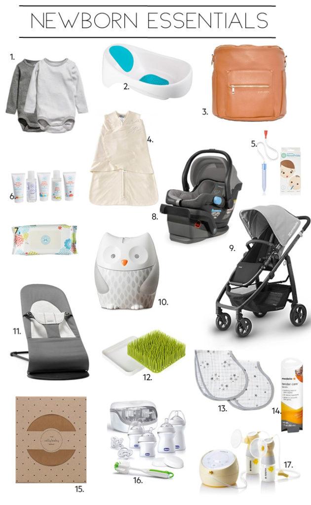 Newborn Essentials - My Must Haves Items - Kristina Lynne